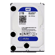 Disco Rigido Interno 2tb Blue Wd Western Digital 64mb Sata 3