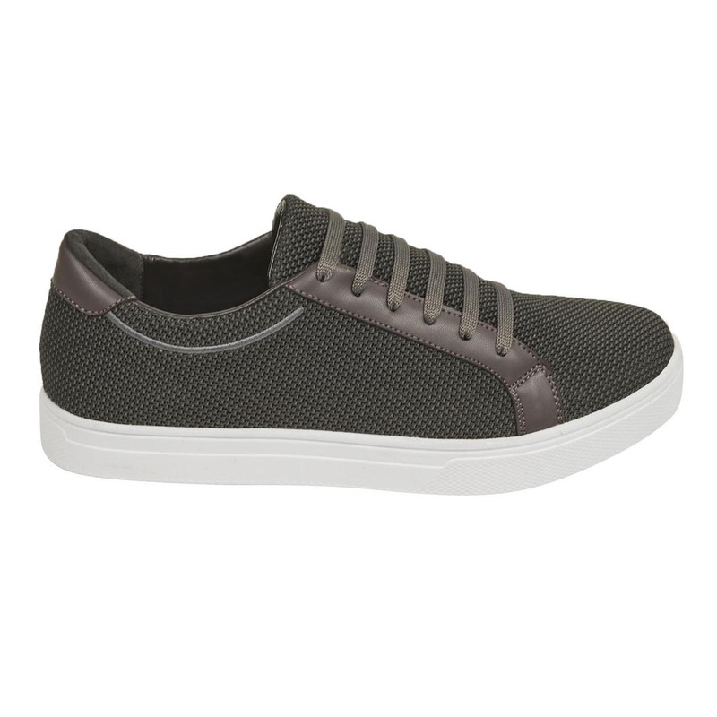 Sneakers gris oscuro textura 018564