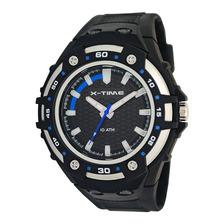 Reloj Deportivo Analogico X-time Xt004 Sumergible 3 Agujas Luz Oficial