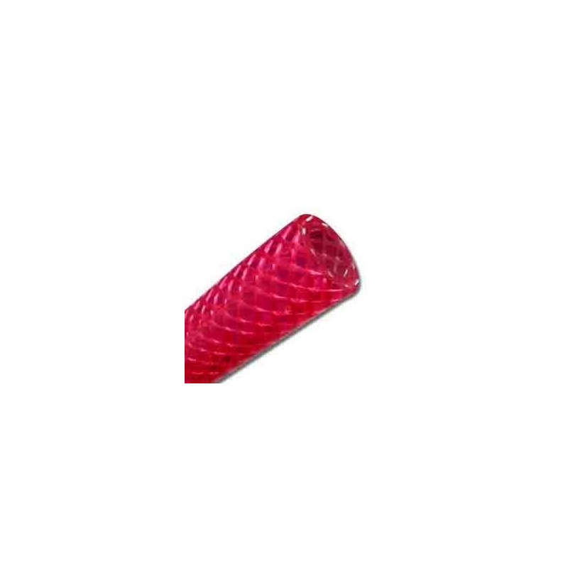 "Manguera Roja mallada para Gas CO2 5/16"" - 8mm"