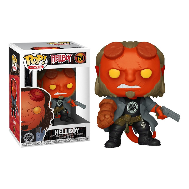 Hellboy Pop Funko #750 - Hellboy 2019 - Movies