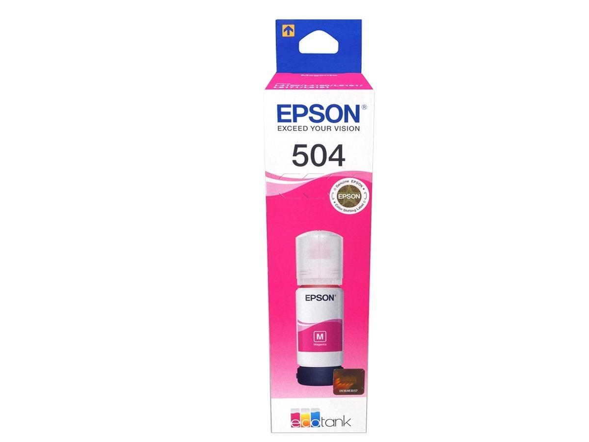 Tinta Epson T504 Magenta T504320 L4150 L4160 Original