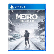 Metro Exodus Ps4 Fisico Sellado Nuevo Original