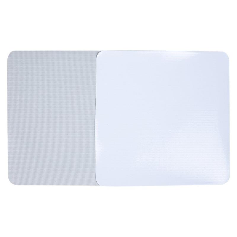 Lona pvc para banner Unibanner branca brilho verso cinza (280 g) larg. 1,40 m