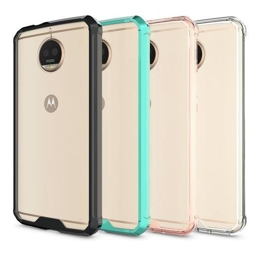 FUNDA MOTO G6 PLUS TRANSPARENTE