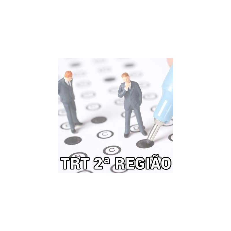 Simuladões TA + AJOJAF TRT 2 SP 2018