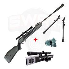 Rifle Aire Comprimido Fox Super Power Potenciado Mira Cuotas