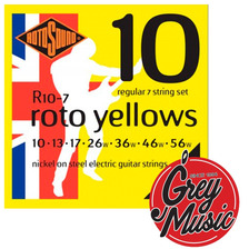 Encordado Rotosound R10-7 Electrica 7 Cuerdas - Grey Music -