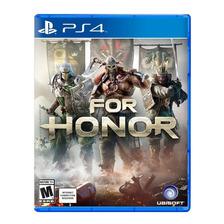 For Honor Ps4 Fisico Sellado Nuevo Original