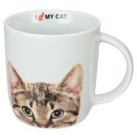 Caneca Porcelana 340ml I Love My Cat - Dynasty 7518177
