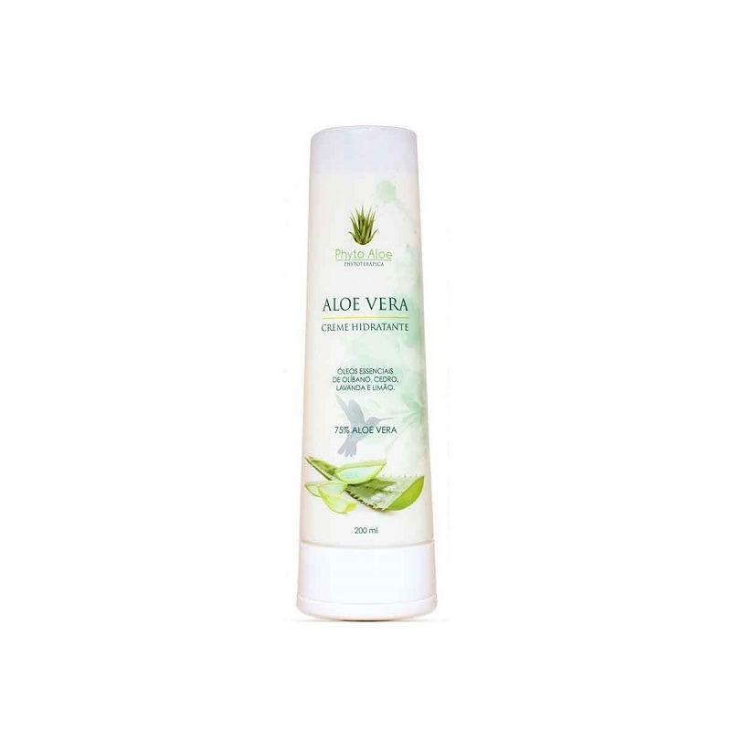 Creme Hidratante de Aloe Vera 75% - Phytoterapica 200ml