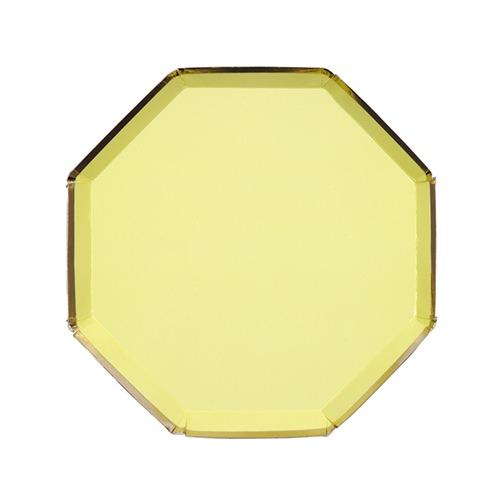 Platos Amarillos Pastel