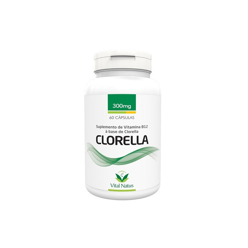 Clorella - 60 capsulas 300mg - Vital Natus
