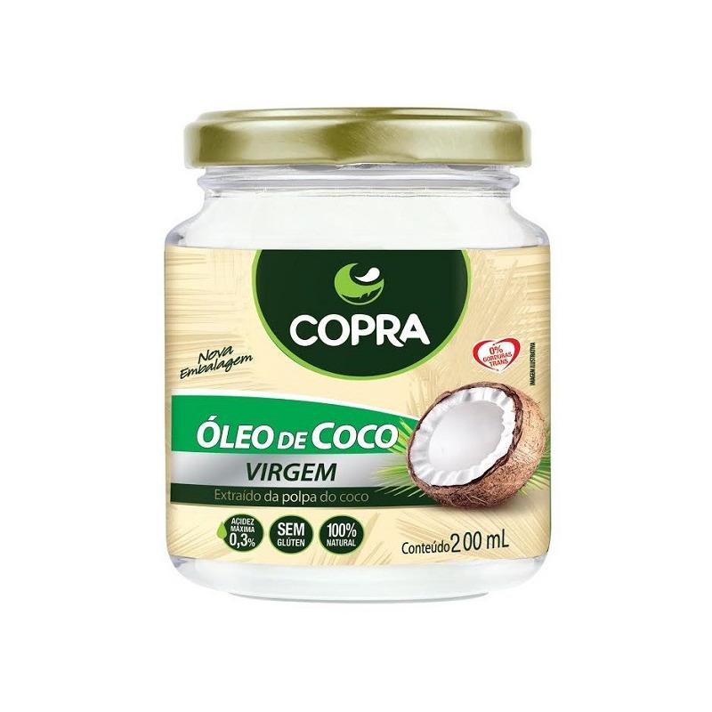 Oleo de Coco Virgem 200ml - Copra