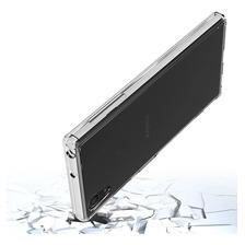 Funda Rigida Transparente Sony Xa1 Plus Antigolpe