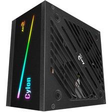 FUENTE PC AEROCOOL CYLON 600W RGB 80 PLUS BRONZE CERTIFICADA