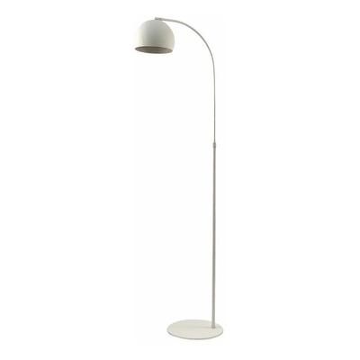 Lampara De Pie Arco Small Blanco Moderna Apto Led Luz Desing