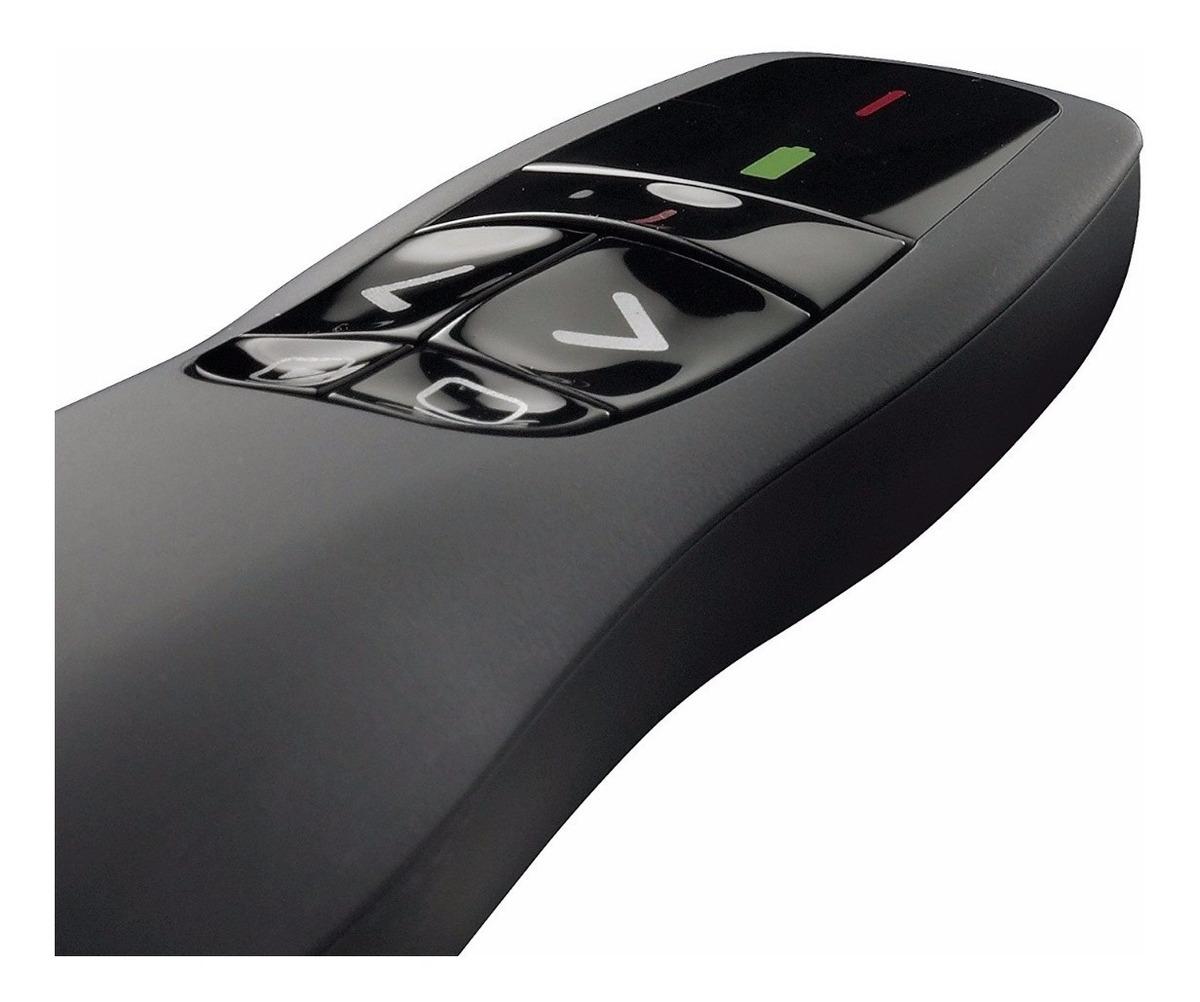 Puntero Laser Logitech R400 Presentador Diapositivas Wifi