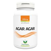 Agar-Agar - 60 capsulas 500mg - Vital Natus