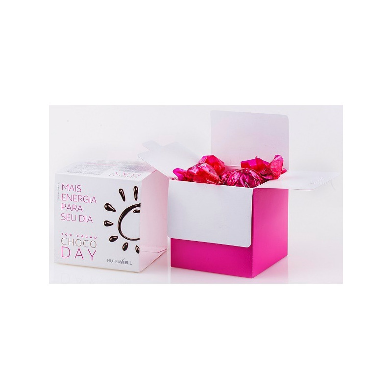 Bombom ChocoDay 70% Cacau Cranberry - Cx.12x13g - Nutrawell