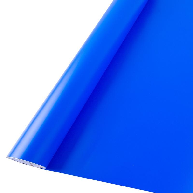 Vinil adesivo maxlux azul médio translúcido larg. 0,61 m