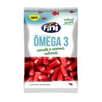 Bala de Gelatina Natural Sweets com omega 3 - 18g - Fini