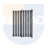 Kit 12 Lâminas 127mm com Pino de Passo Grosso - 28741 - Proxxon