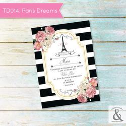 Invitación digital TD014 (Pari...