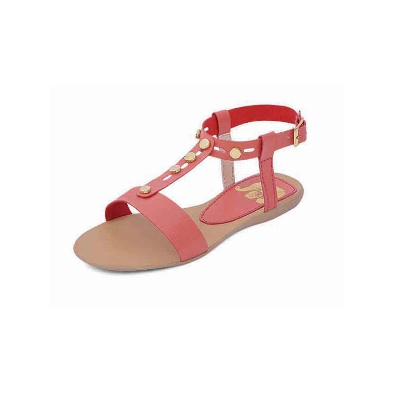 Sandalia coral broches 018236