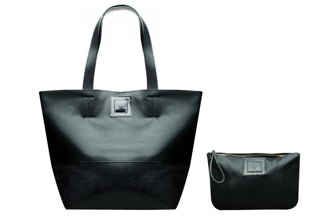 PROMO HOT SALE Tote Bag Frida (Negra / Suela - Negra / Vi...