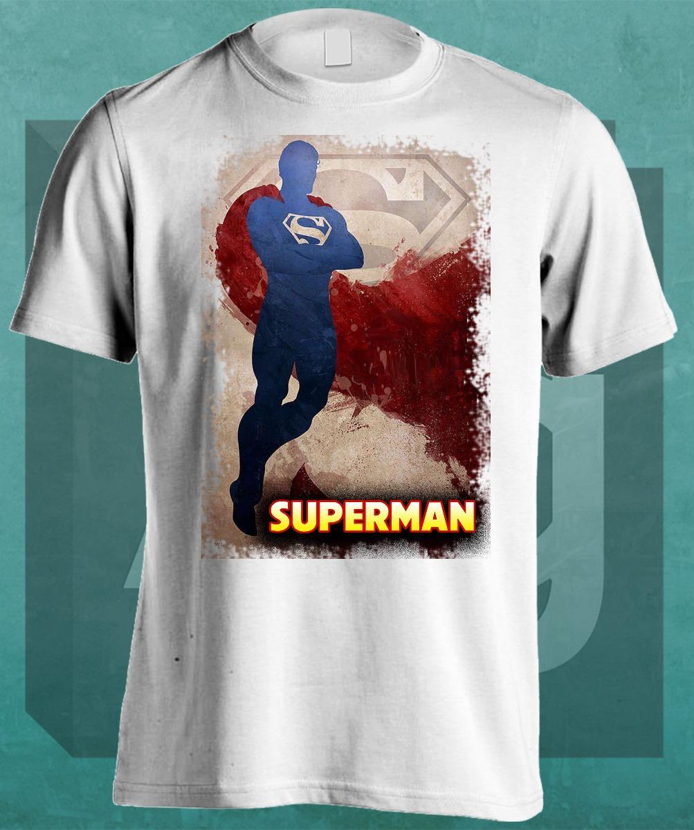 Remeras Estampadas Superheroes