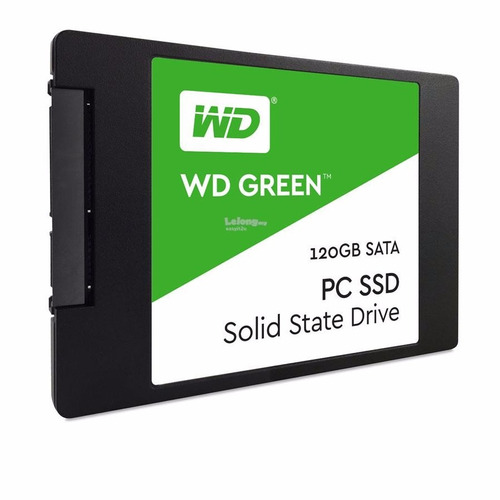 Disco Solido Ssd 120gb Wd Western Digital Green Sata 3 Gtia