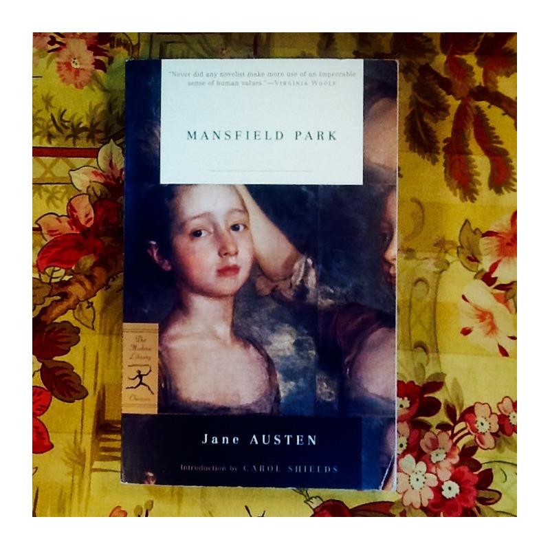 Jane Austen.  MANSFIELD PARK.