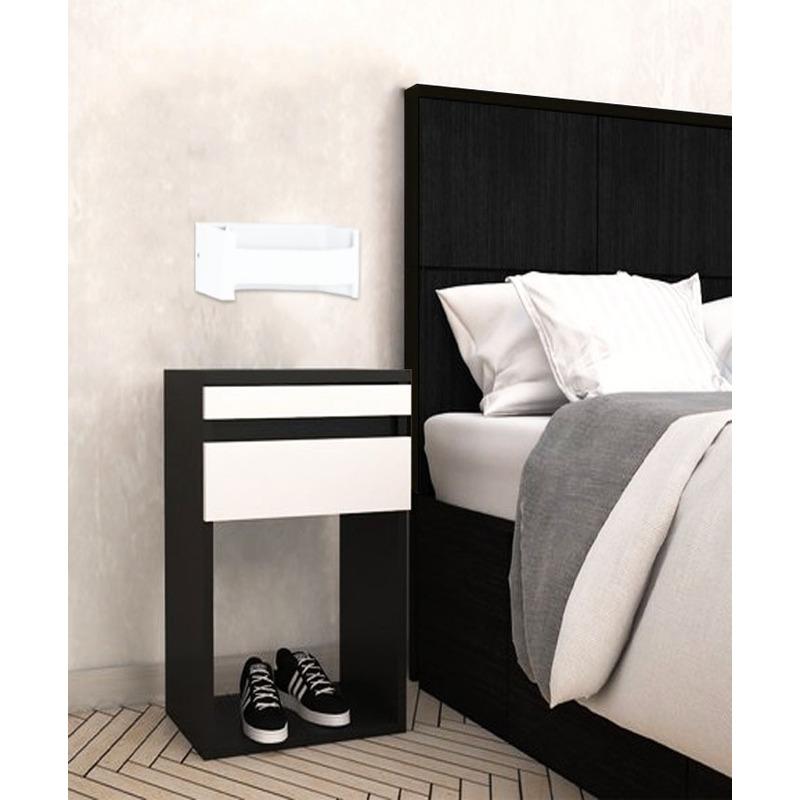 Aplique Pared Feloniche Led Blanco Aluminio Moderno Eglo