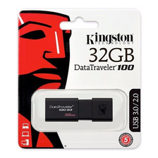 Pen Drive Kingston 32 Gb Usb 3.1 Velocidad Original Dt100g3