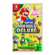 Super Mario Bros U Deluxe | Nintendo Switch | Fisico Nuevo