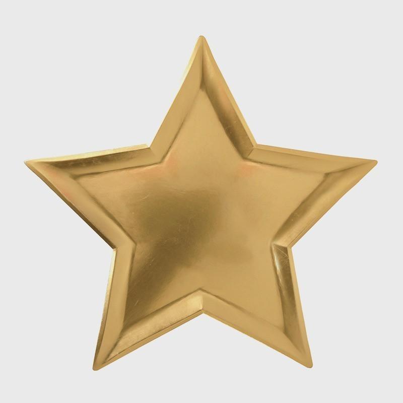 Platos estrella dorado