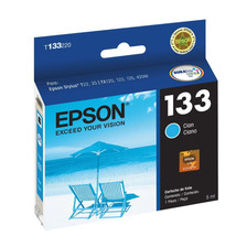 Cartucho Epson 133 Cian Original T133120 133120