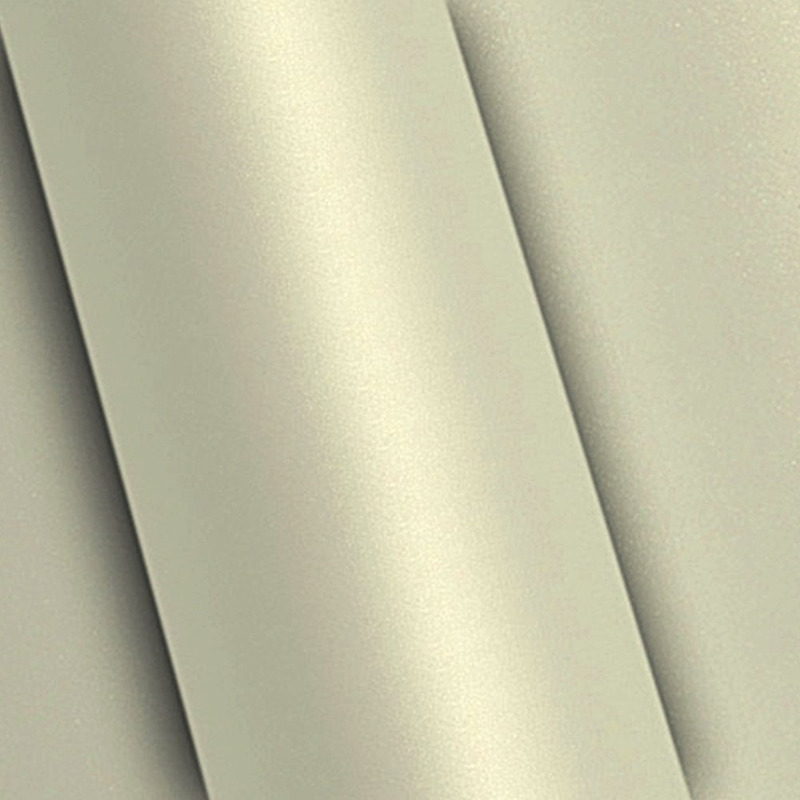 Adesivo para envelopamento automotivo white pearl (pérola)  larg. 1,38 m