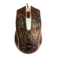 Mouse Gamer Usb Retroiluminado Rgb 3d 1500 Dpi 3 Botones St-068 Stormer Multicolor Noga