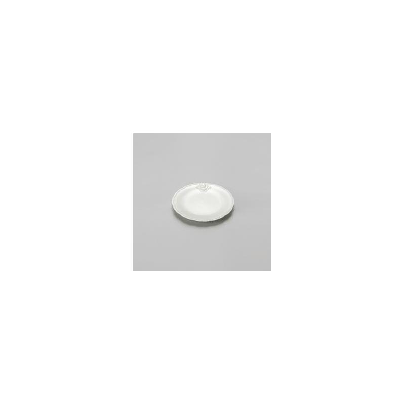 Jogo 06 Pratos para Sobremesa Queen em porcelana  19Cm 4107010