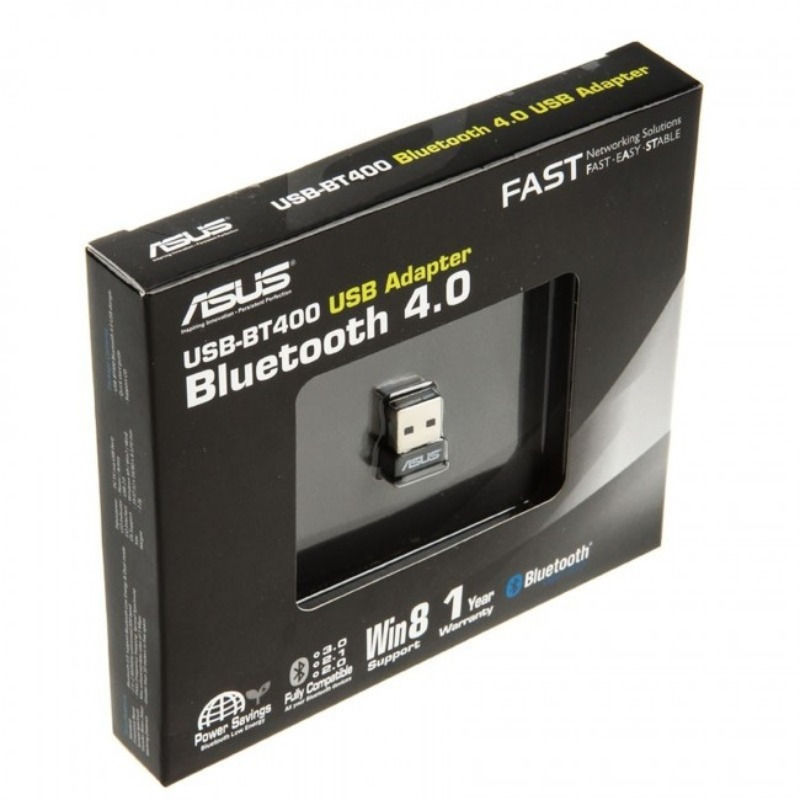 Mini adaptador Asus Bluetooth V4.0, USB 2.0