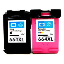 Combo Cartuchos Alternativos Para Hp 664 Xl Negro Y Color