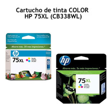Cartucho De Tinta Hp75xl Hp Cb338wl Color