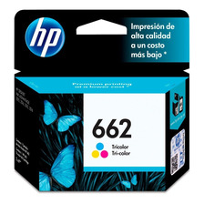 Cartucho Hp 662 Color Original P/ 1515 2545 3545