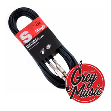 Cable Stagg Sgc6 Plug-plug 6 Metros - Grey Music -