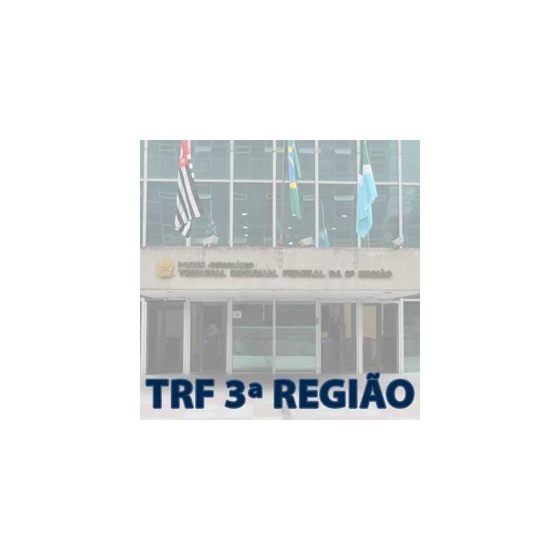 Curso TRF 3 Analista Judiciário AJ 2018