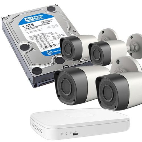 Kit Seguridad Pc Viewsonic Dvr 4 Vieweye Hd 1tb Pcbox