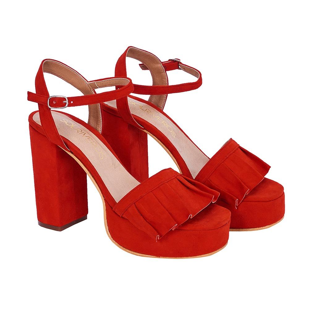 Sandalia Aries 2 Rojo