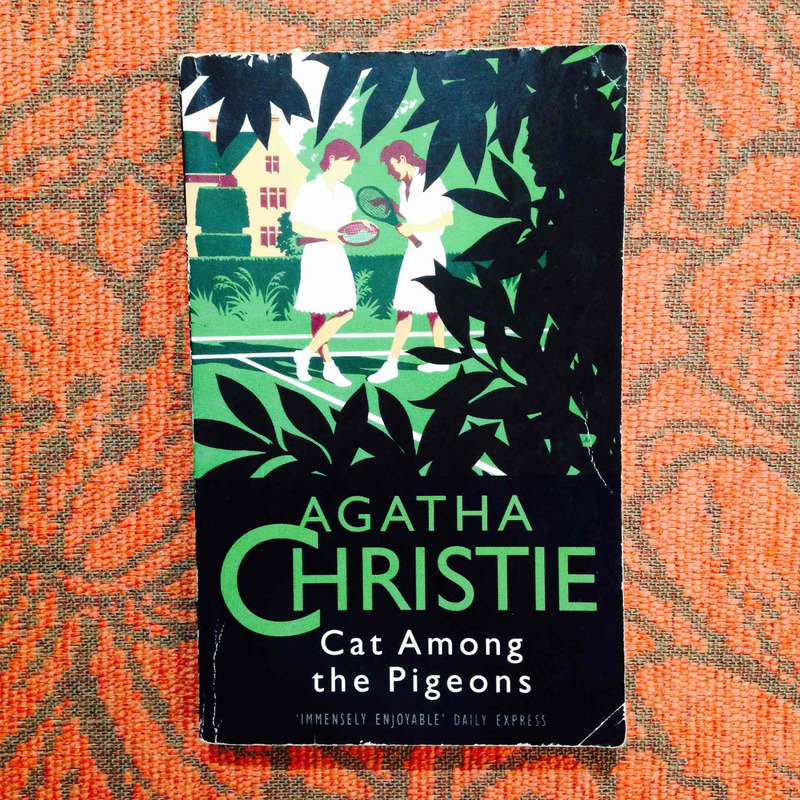 Agatha Christie.  CAT AMONG THE PIGEONS.